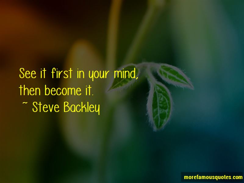 Steve Backley Quotes