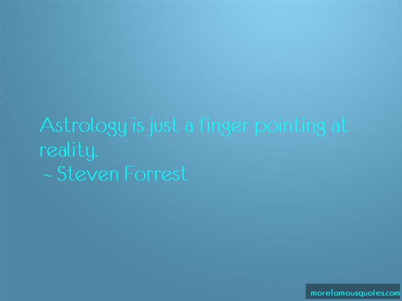 Steven Forrest Quotes Pictures 3