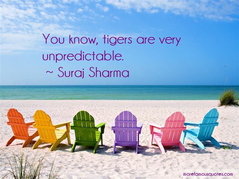 Suraj Sharma Quotes