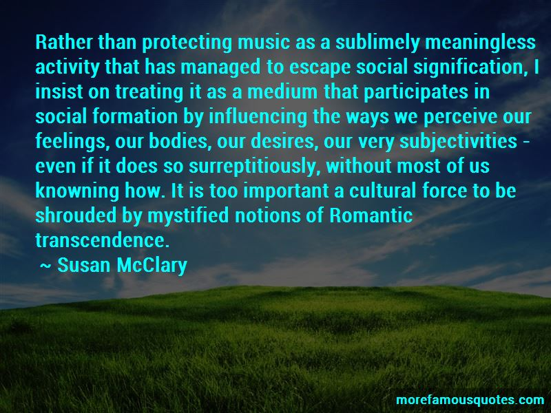 Susan McClary Quotes