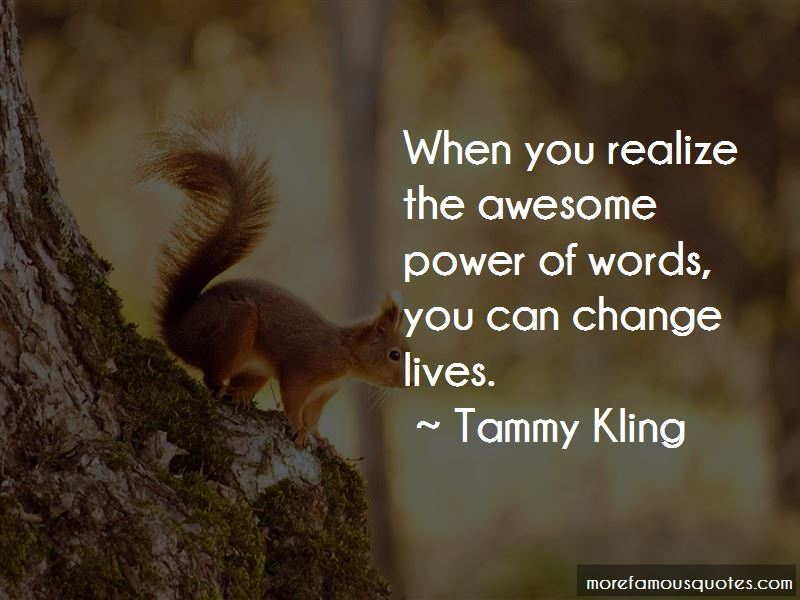 Tammy Kling Quotes Pictures 4