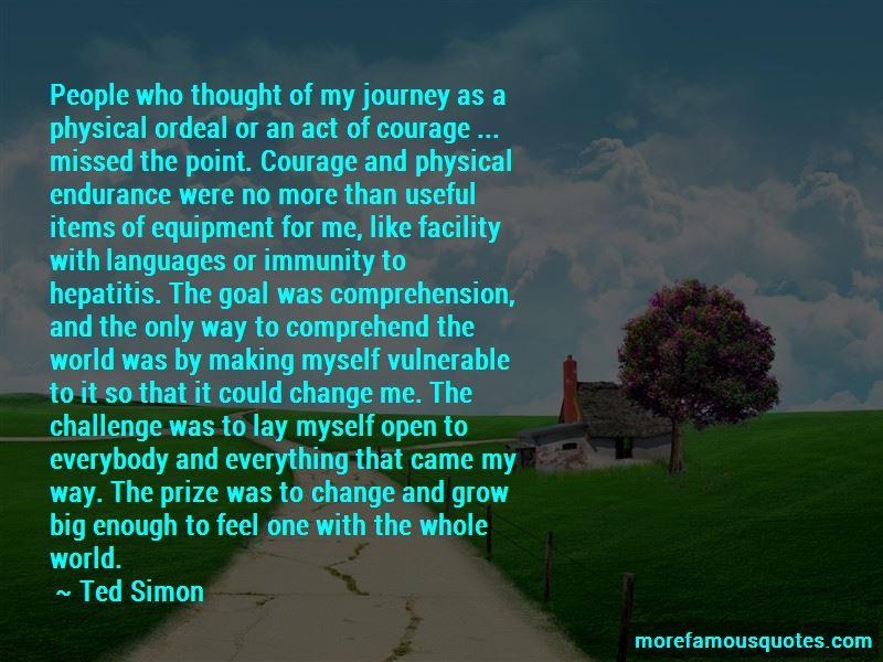 Ted Simon Quotes