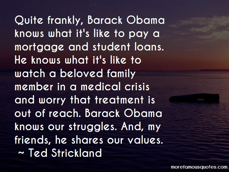 Ted Strickland Quotes Pictures 4