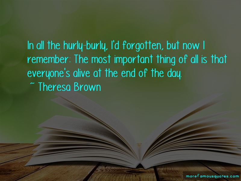 Theresa Brown Quotes Pictures 2