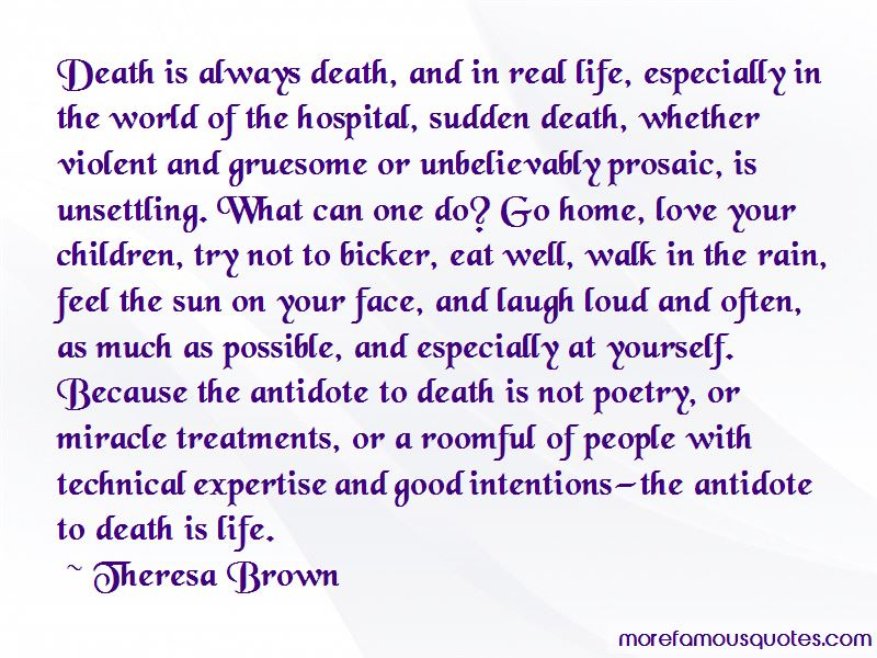Theresa Brown Quotes Pictures 3