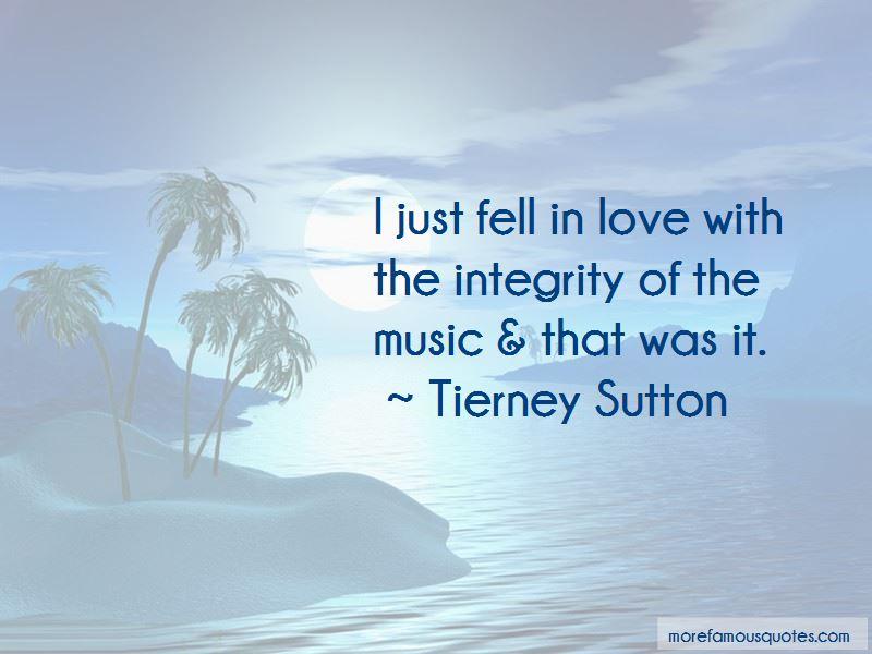 Tierney Sutton Quotes
