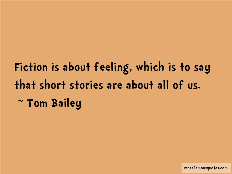 Tom Bailey Quotes Pictures 2