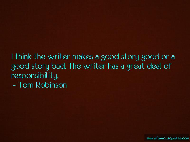 Tom Robinson Quotes Pictures 3