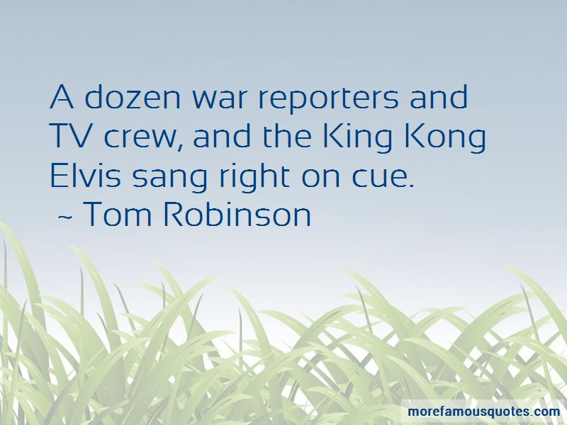 Tom Robinson Quotes Pictures 4