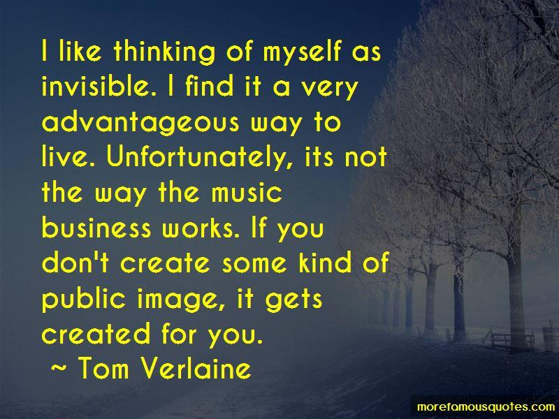 Tom Verlaine Quotes Pictures 3