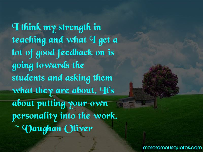 Vaughan Oliver Quotes