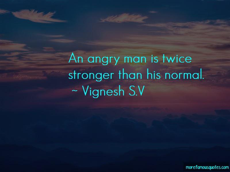 Vignesh S.V Quotes Pictures 2
