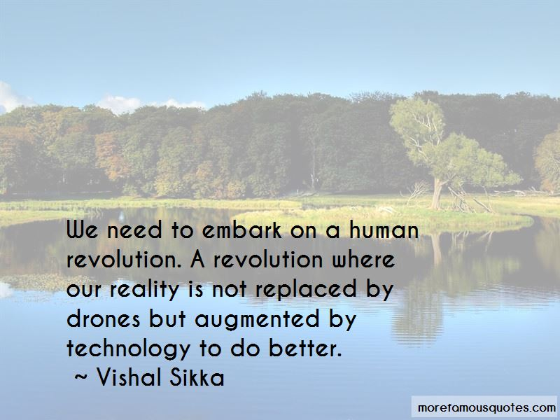Vishal Sikka Quotes