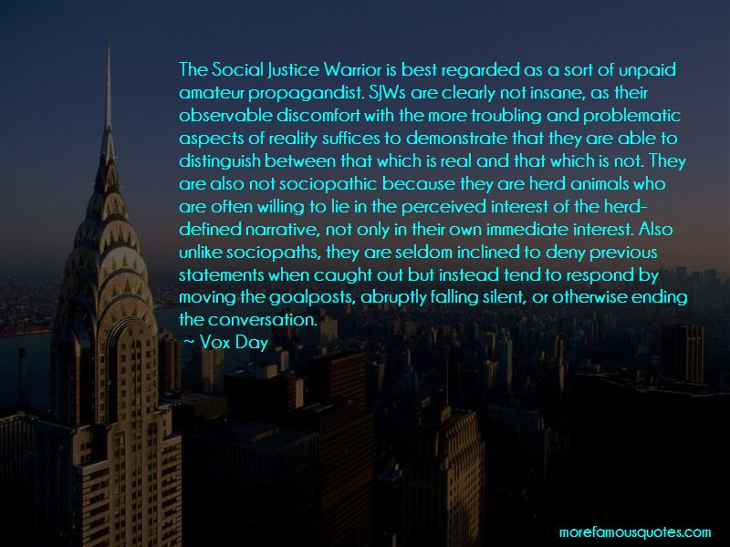 Vox Day Quotes