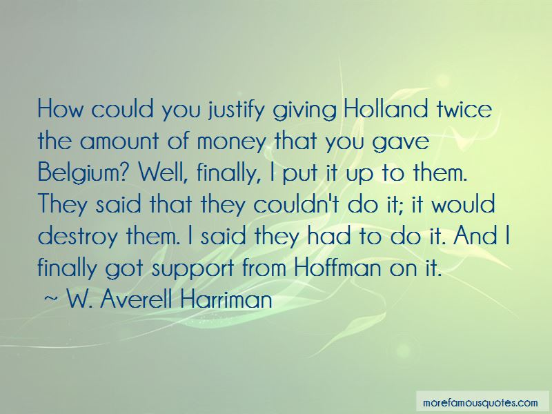 W. Averell Harriman Quotes Pictures 2