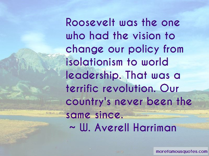 W. Averell Harriman Quotes Pictures 3