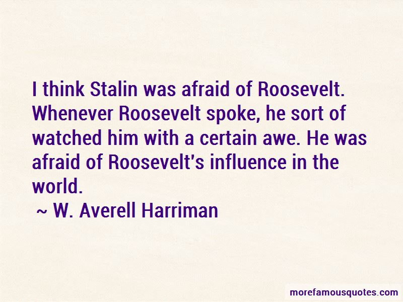 W. Averell Harriman Quotes Pictures 4