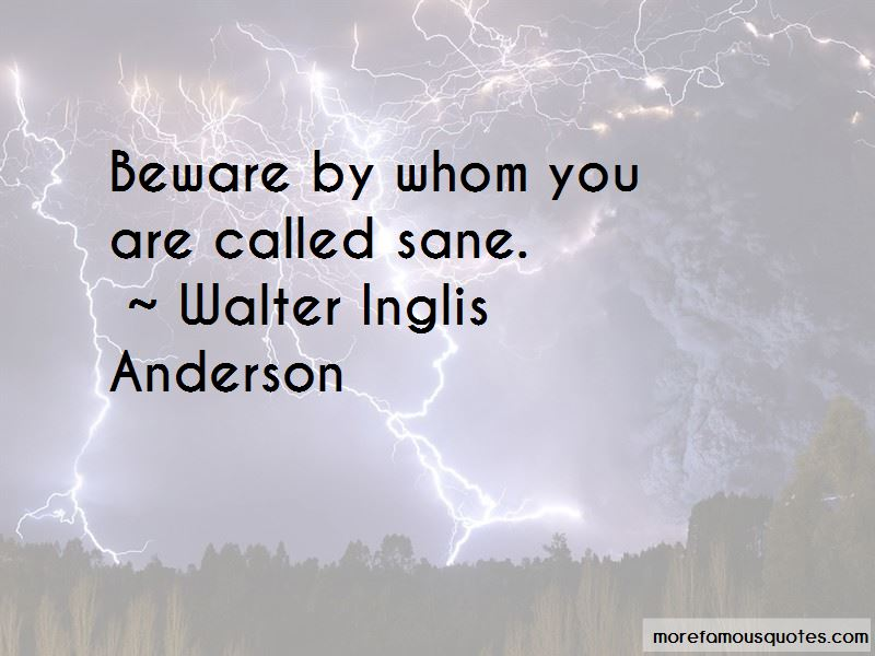 Walter Inglis Anderson Quotes
