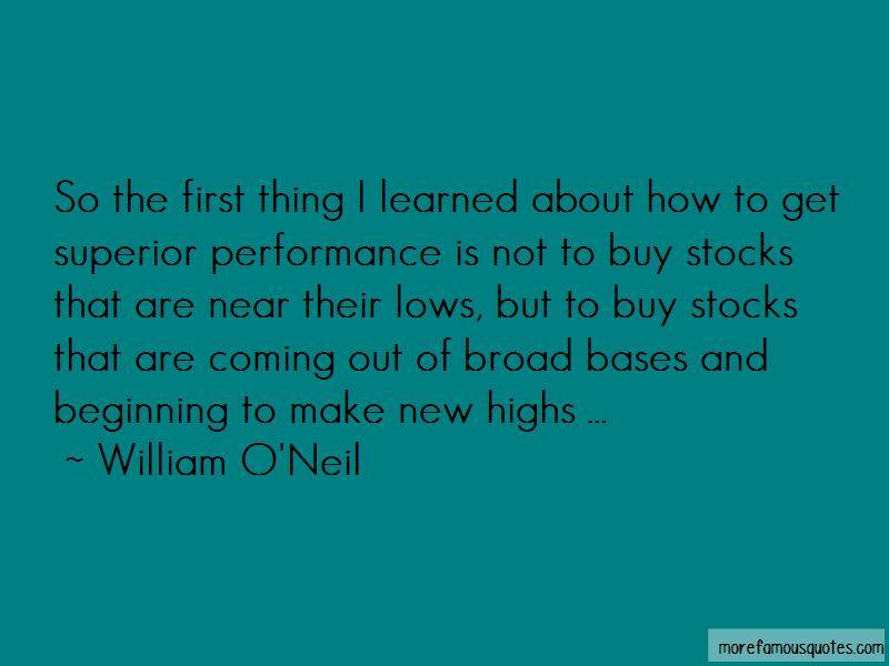 William O'Neil Quotes Pictures 4