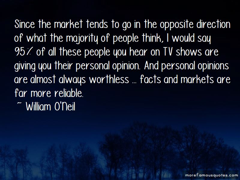 William O'Neil Quotes