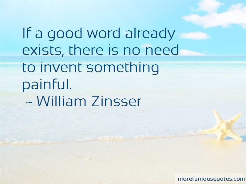 William Zinsser Quotes Pictures 2
