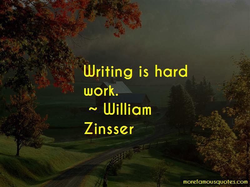 William Zinsser Quotes Pictures 3