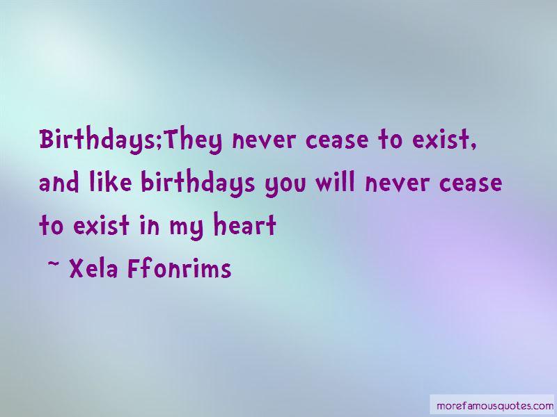 Xela Ffonrims Quotes