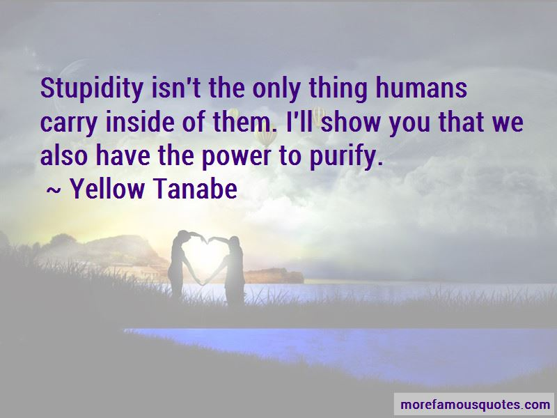 Yellow Tanabe Quotes
