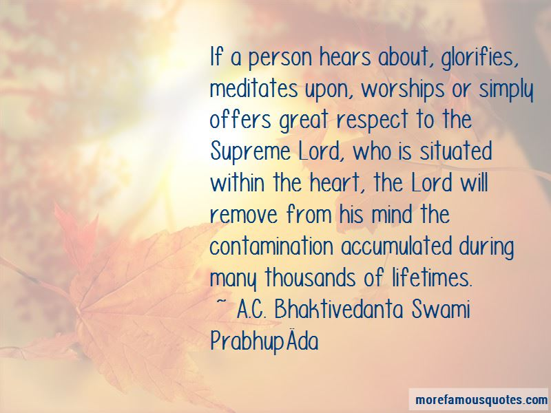 A.C. Bhaktivedanta Swami Prabhupāda Quotes Pictures 4