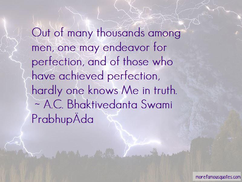 A.C. Bhaktivedanta Swami Prabhupāda Quotes