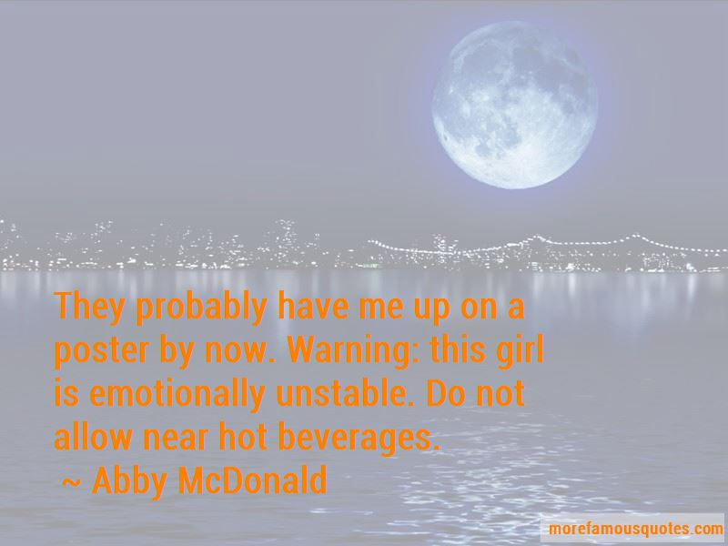 Abby McDonald Quotes Pictures 2