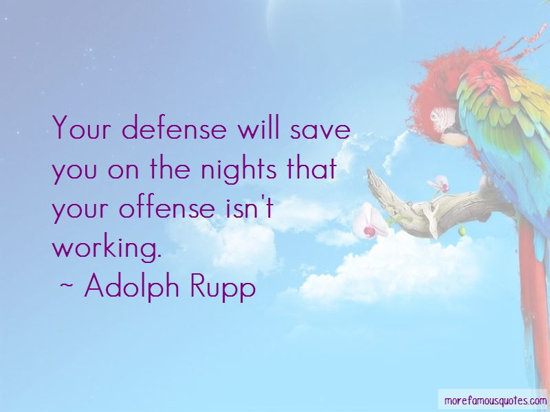 Adolph Rupp Quotes Pictures 2