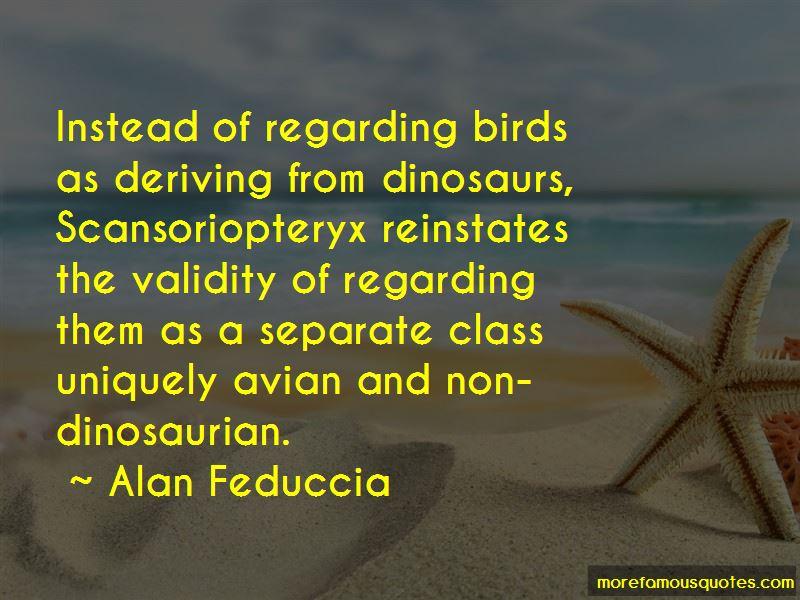 Alan Feduccia Quotes Pictures 4