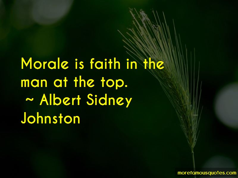 Albert Sidney Johnston Quotes Pictures 3
