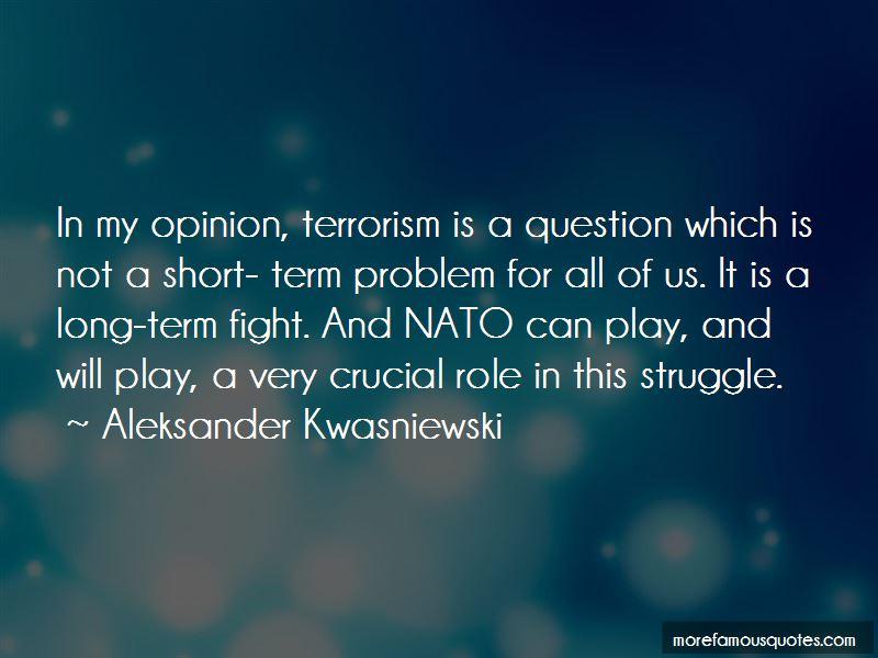Aleksander Kwasniewski Quotes Pictures 2