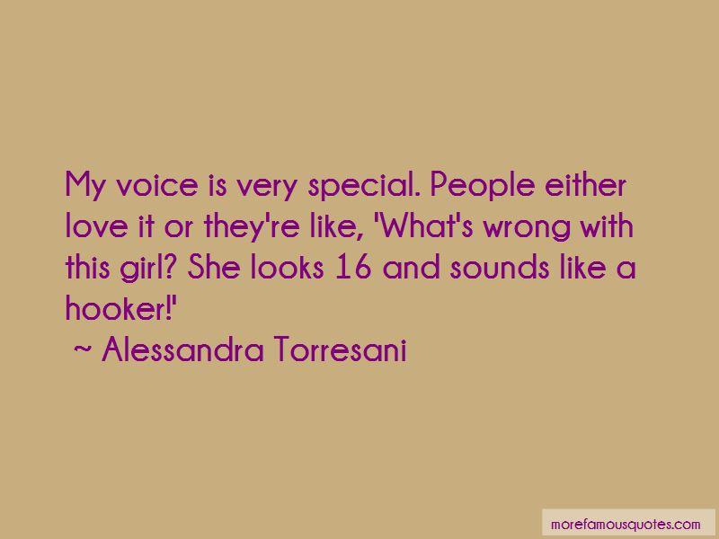 Alessandra Torresani Quotes Pictures 3