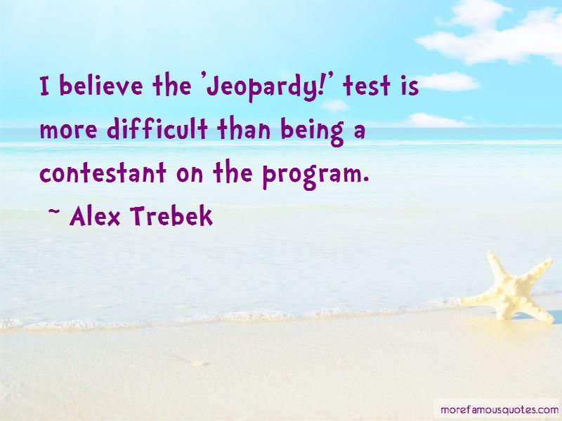 Alex Trebek Quotes Pictures 3