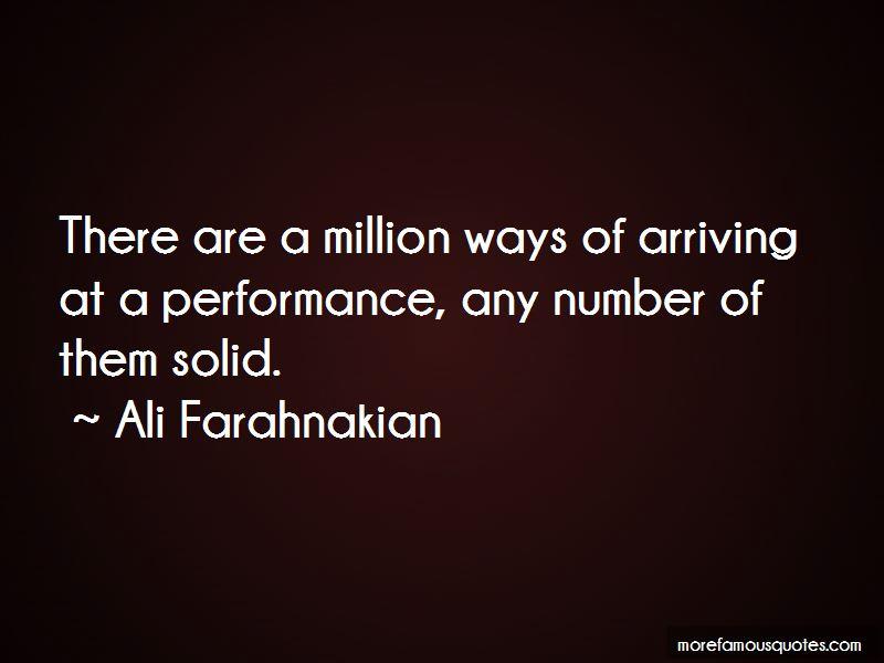 Ali Farahnakian Quotes Pictures 4