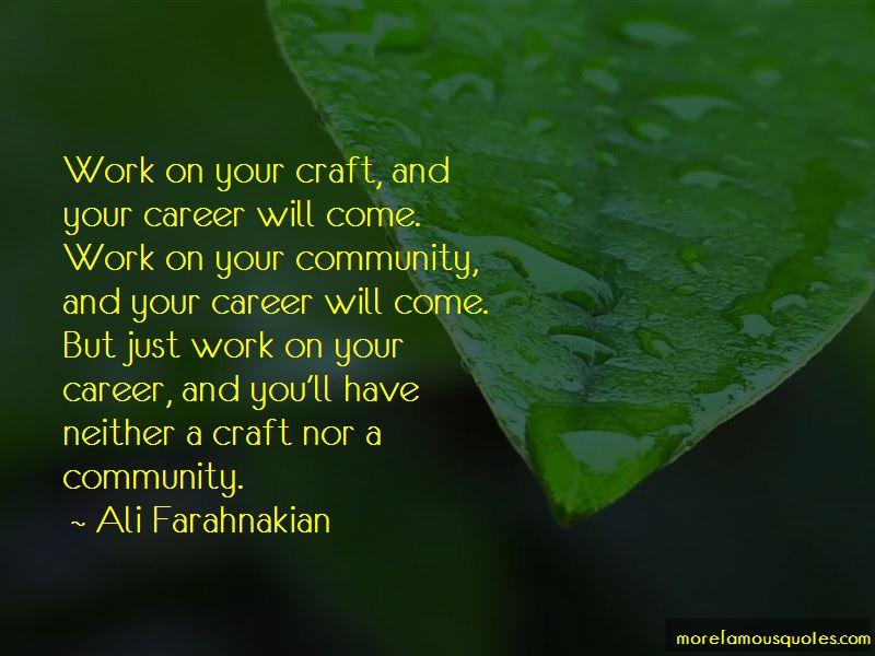 Ali Farahnakian Quotes