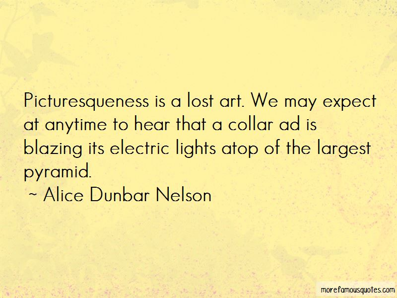 Alice Dunbar Nelson Quotes