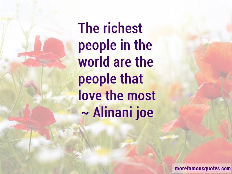 Alinani Joe Quotes Pictures 2