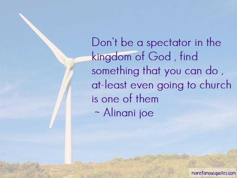 Alinani Joe Quotes