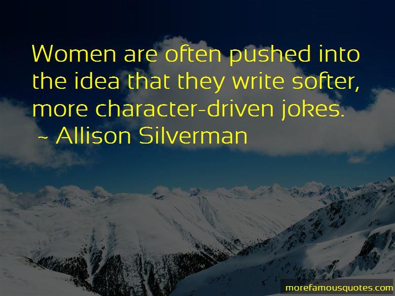 Allison Silverman Quotes Pictures 2