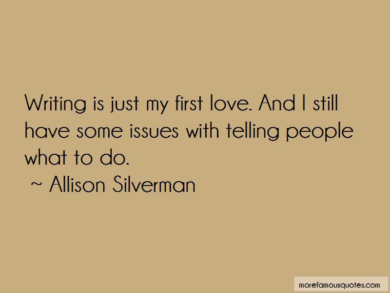 Allison Silverman Quotes Pictures 3