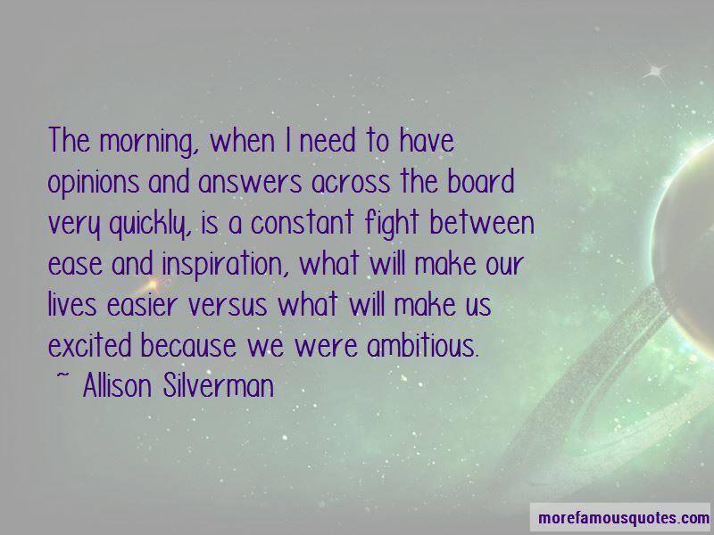Allison Silverman Quotes
