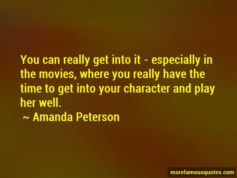 Amanda Peterson Quotes Pictures 3