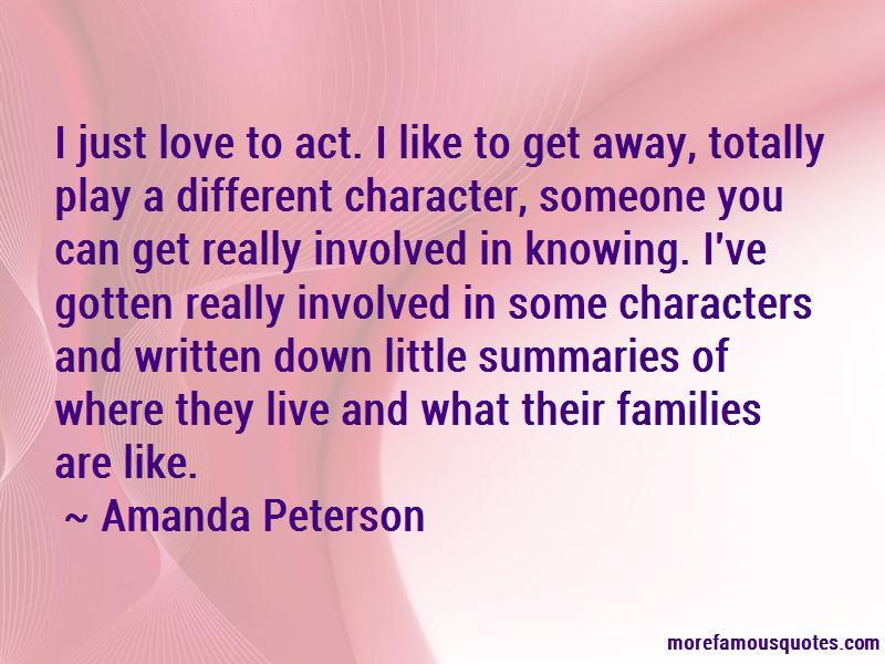 Amanda Peterson Quotes