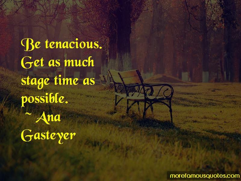 Ana Gasteyer Quotes