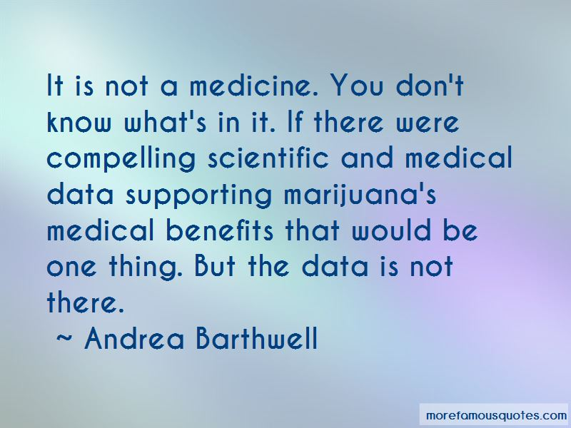 Andrea Barthwell Quotes