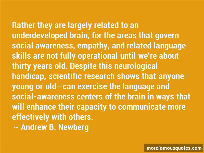Andrew B. Newberg Quotes Pictures 2